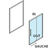 Porte SPA Coulissante Gauche
